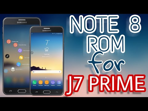 Install Note 8 Rom For J7 Prime Novaos Vd Android 8 Oreo