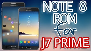 Install Note 8 Rom for J7 Prime 😍 / NovaOS vD / Android 8 Oreo Features / STABLE