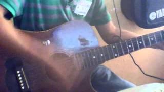 toc em duoi ga cover guitar - híu bùi