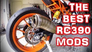 THE BEST RC390 MODS