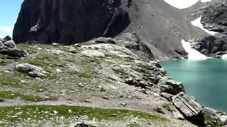 Randonnée au lac de l'Eychauda (Parc des Ecrins)