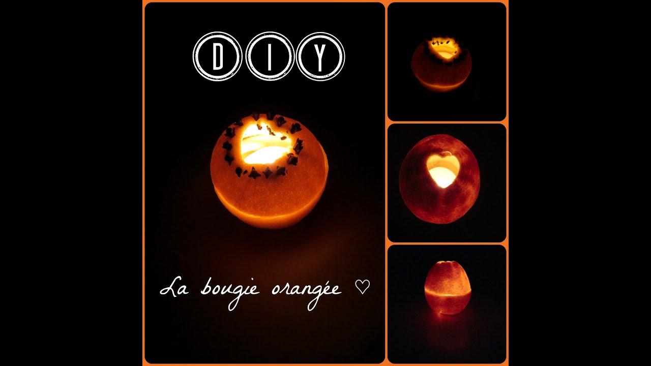 Diy bougie en orange youtube - Comment fabrique une bougie ...