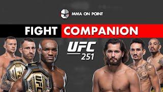 UFC 251: Kamaru Usman vs Jorge Masvidal Fight Companion