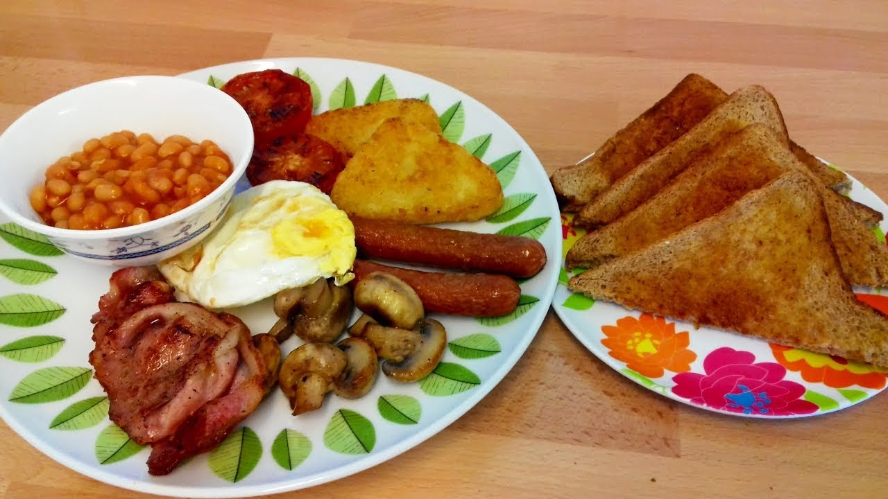 British Breakfast | Full English Breakfast Recipe | How to ...