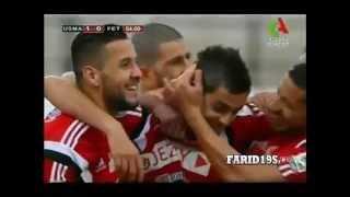 أهداف إتحاد الجزائر 3 0 فولاح اديفيس   YouTube