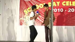 Very Funny Skit - Class 10 - Little Angels Public School Annual Day 2010-2011