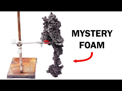 Making A Mysterious Foam