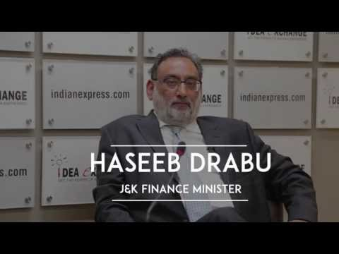 Haseeb Drabu On The J&K Package, Engagement With Pakistan & Alliance With The BJP