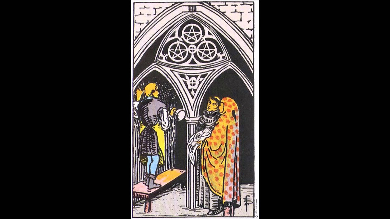 Tarot Tuesday - Three of Pentacles Symbolism and Meaning