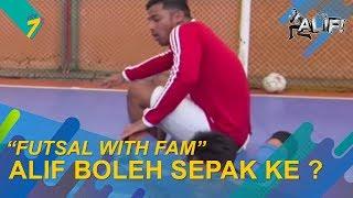 Cuba Test Tengok | Futsal With FAM | It's Alif!