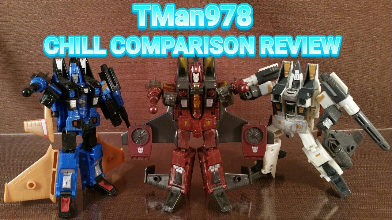 Transformers Classics/Generations Ramjet, Thrust & Dirge CHILL ...