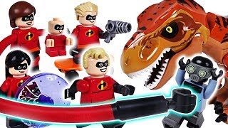 Villains appeared at bank! Lego Disney the Incredibles 2! Keep treasures with police! - DuDuPopTOY