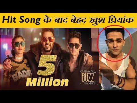 Priyank Sharma on his new song   Buzz feat Badshah   Priyank Sharma Reaction