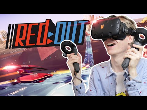 FASTEST VR RACING GAME EVER?! | Redout (HTC Vive Gameplay)