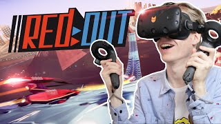 FASTEST VR WIPEOUT GAME EVER?! | Redout (HTC Vive Gameplay)
