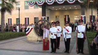 U.s. Marines And Armed Forces Of Malta Color Guard And National Anthems