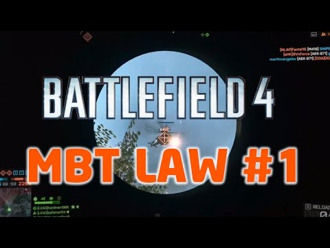 Battlefield 4 / Helikopter Patlatmaca / Guilin Peaks / MBT LAW / #1