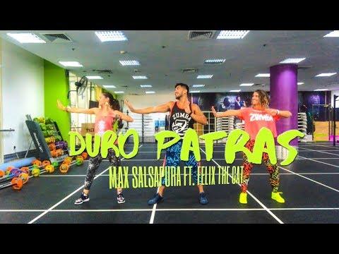 Duro Patras by Max Salsapura ft. Felix the cat | Zumba® Fitness | Masterjedai