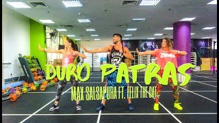 Duro Patras by Max Salsapura ft. Felix the cat | Zumba® Fitness | Masterjedai