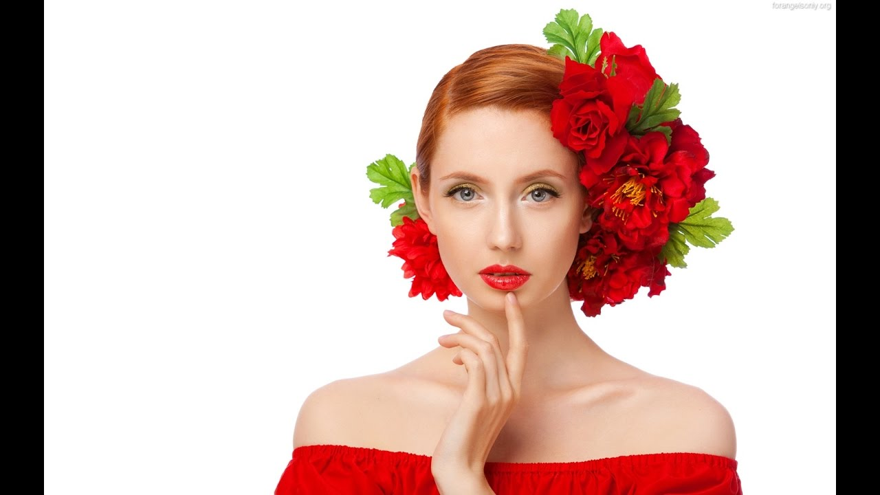 Beautiful girls and women with flowers youtube beautiful girls and women with flowers izmirmasajfo Image collections