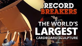 Record Breakers: Can We Make the World's Largest Cardboard Sculpture? | Full Sail University