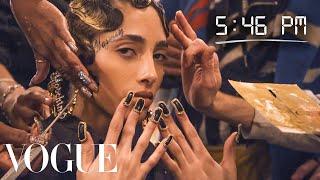 How Top Model Yasminwijnaldum Gets Runway Ready   Diary Of A Model   Vogue