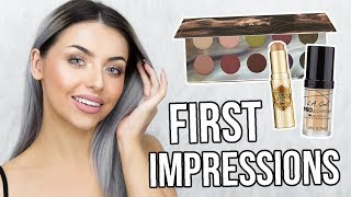 FULL FACE OF FIRST IMPRESSIONS / TESTING NEW MAKEUP!