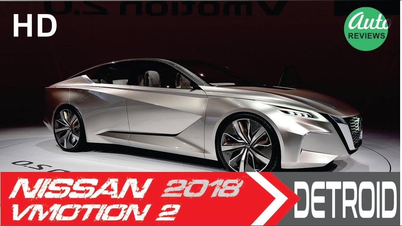 2018 toyota maxima. FUTURE SEDAN 2018 Nissan Vmotion 2 Detroid Auto Show Toyota Maxima