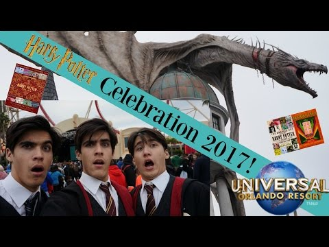 HARRY POTTER Celebration 2017! | Universal Orlando & Cast From The Movies