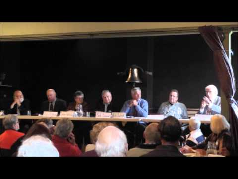 North Crosby Candidates Meeting Rideau Lakes 2014