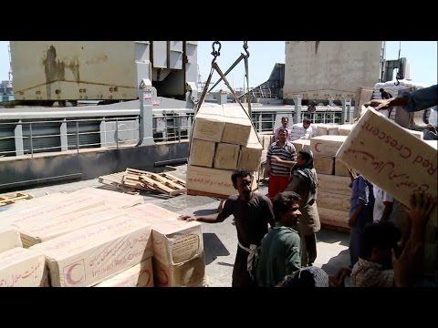 Aide humanitaire iranienne en direction du Yémen : entretiens avec les étrangers à bord du navire