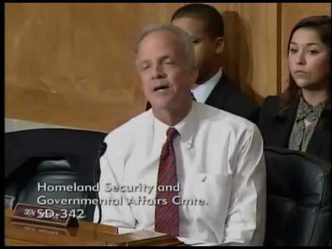 Sen. Jerry Moran Questions Sec. Napolitano About National Bio and Agro-Defense Facility (NBAF)