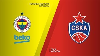 Fenerbahce BEKO Istanbul - CSKA Moscow  Highlights   Turkish Airlines EuroLeague RS Round 13