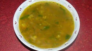 Постный суп с чечевицей. Вкусный, простой и быстрый в приготовлении.