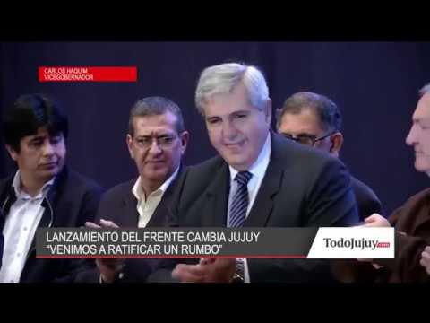 Mirá lo que dijo el vicegobernador Carlos Haquim