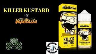 Killer Kustard by Vapetasia 100ml| E-Liquid Review