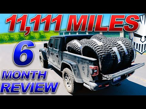 Jeep Gladiator REVIEW - SIX MONTHS / 11,111 MILES