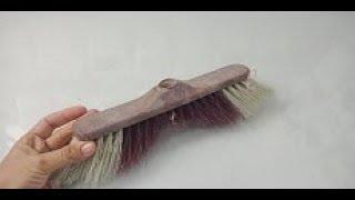 حصري/لن تصدق ماذا صنعت بالمكنسة القديمة/فكرة مفيدة جدا فالمنزل/best out of waste broom/diy and craft