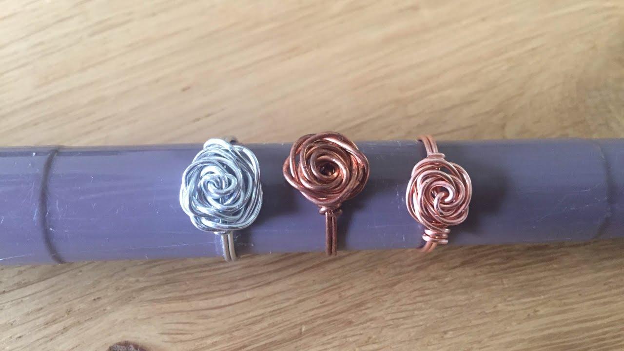 Diy sieraden: roos ring / rose ring