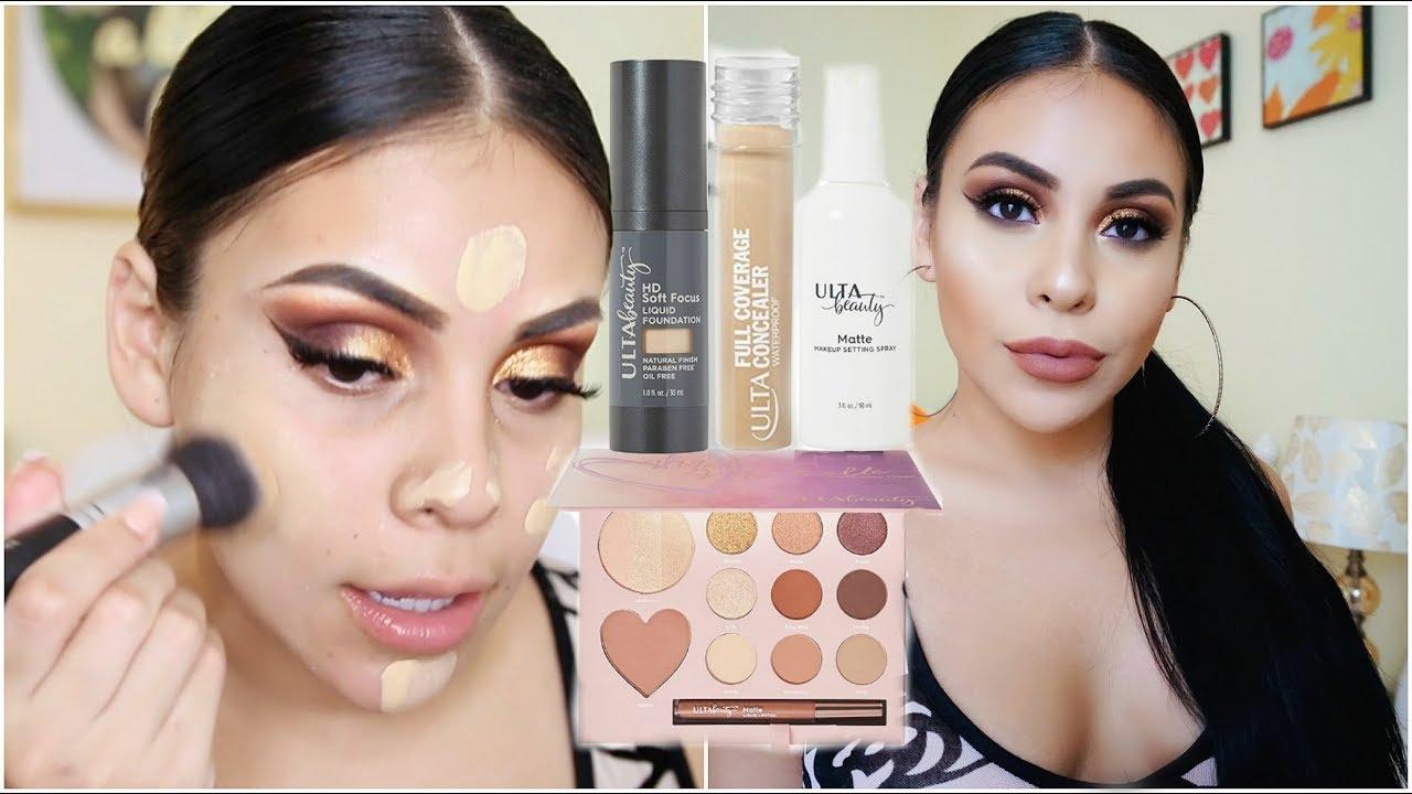 Full Face Using Only Ulta Beauty Makeup 2017 Juicyjas Youtube