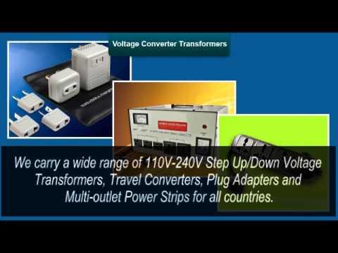 220v to 110v step down voltage converter 50w travel power transformer