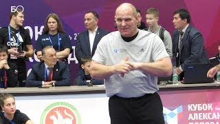 Олимпийский чемпион Александр Карелин провел мастер-класс в Казани