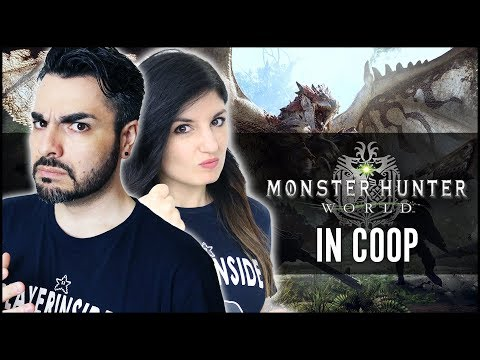 MONSTER HUNTER WORLD IN COOP Midna e Raiden contro i mostri!