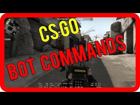 CS GO BOT COMMANDS - Add, Kick, Stop, Place Bots - CS GO USEFUL SV_CHEATS CONSOLE COMMANDS