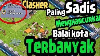 Gambar cover SADIS Dengan Menghancurkan Balaikota TERBANYAK .10 REKOR DUNIA dan REKOR INDONESIA MISTERI COC
