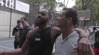 Authorized Access – Brandon Armstrong at West 4th Street Basketball Courts