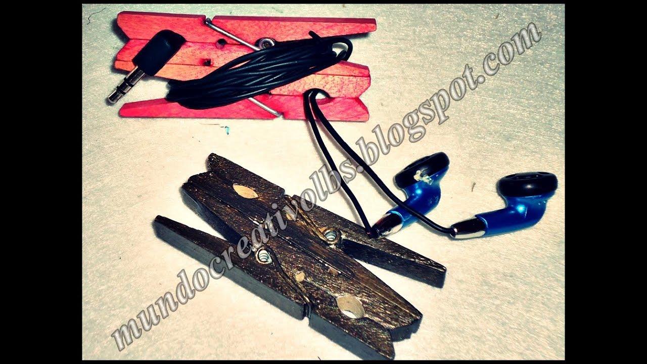 Diy pinzas para auriculares 028 youtube for Kit para toldos de enrollar
