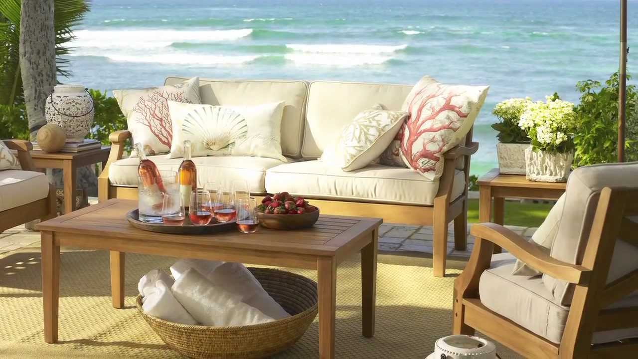 Choose Outdoor Furniture For Your Home Pottery Barn Youtube