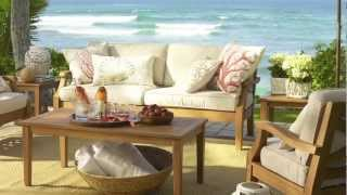 Choose Outdoor Furniture For Your Home | Pottery Barn