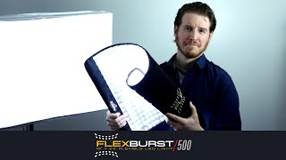 Flexible LED Light Panel Light kit for photo & video: Digital Juice FlexBurst 500
